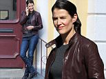 Picture Shows: Cobie Smulders  October 28, 2015\n \n Actress Cobie Smulders is spotted filming scenes for 'Jack Reacher: Never Go Back' in New Orleans, Louisiana. In the scene she received a phone call then mysteriously looked around the corner. \n \n Non-Exclusive\n UK RIGHTS ONLY\n \n Pictures by : FameFlynet UK � 2015\n Tel : +44 (0)20 3551 5049\n Email : info@fameflynet.uk.com