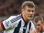 NORWICH, ENGLAND - OCTOBER 24:  James McClean of West Bromwich Albion and Hathan Redmond of Norwich City compete for the ball during the Barclays Premier League match between Norwich City and West Bromwich Albion at Carrow Road on October 24, 2015 in Norwich, England.  (Photo by Bryn Lennon/Getty Images)