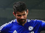 27 October 2015 - Capital One Cup (4th Round) - Stoke City v Chelsea - Diego Costa of Chelsea leaves the match with an injury - Photo: Marc Atkins / Offside.