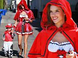 Picture Shows: Noah Mazur, Alessandra Ambrosio  October 30, 2015\n \n Alessandra Ambrosio spotted out and about with her son Noah, both in costume, in Los Angeles, California. Alessandra was dressed as lLittle Red Riding Hood while Noah was dressed as a dalmatian firehouse dog.\n \n Non-Exclusive\n UK RIGHTS ONLY\n \n Pictures by : FameFlynet UK © 2015\n Tel : +44 (0)20 3551 5049\n Email : info@fameflynet.uk.com
