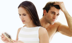 Hair Loss man and woman