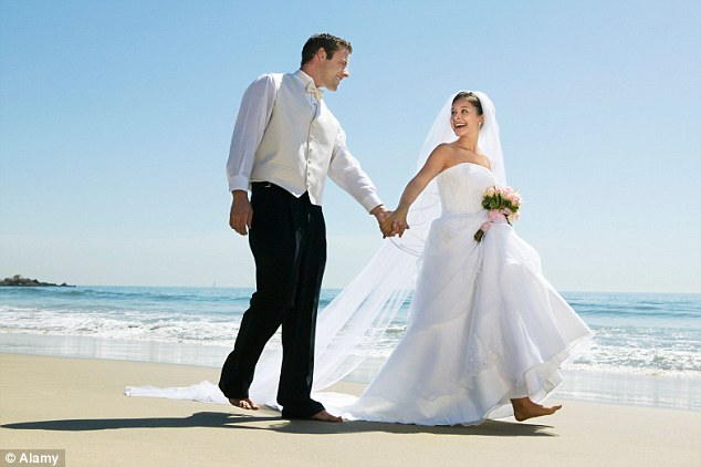 The average cost of a wedding in Britain now tops £24,000 - but a destination ceremony is far cheaper