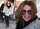 Julianne Moore arrived in Berlin Tegel airport for PR for The Hunger Games - Mockingly: Part 2 Worldpremiere\n\nPictured: Julianne Moore\nRef: SPL1138109  011115  \nPicture by: Splash News\n\nSplash News and Pictures\nLos Angeles: 310-821-2666\nNew York: 212-619-2666\nLondon: 870-934-2666\nphotodesk@splashnews.com\n