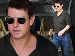 EXCLUSIVE: Tom Cruise departs his New Orleans hotel the day after Leah Remini's bombshell interview. The actor, who is in town shooting his follow up role as Jack Reacher, looked dapper in a pair of gold frame sunglasses as he made his way to an awaiting car, carrying a weekend bag. Yesterday, former Scientologist Leah Remini challenged the church and the actor personally in an ABC 20/20 interview. \n\nPictured: Tom Cruise\nRef: SPL1165597  311015   EXCLUSIVE\nPicture by: Splash News\n\nSplash News and Pictures\nLos Angeles: 310-821-2666\nNew York: 212-619-2666\nLondon: 870-934-2666\nphotodesk@splashnews.com\n