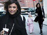 ***MANDATORY BYLINE TO READ INFPhoto.com ONLY***\nBethany Frankel is seen leaving Halloween party with daughter Bryn Hoppy in costume, New York City.\n\nPictured: Bethenny Frankel, Bryn Hoppy\nRef: SPL1165414  301015  \nPicture by: T.Jackson/INFphoto.com\n\n