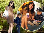 Picture Shows: Selma Blair, Arthur Bleick  October 30, 2015\n \n Actress Selma Blair goes shopping with her son at the Beverly Center in Los Angeles, CA. Arthur is all ready for Halloween and can be seen in a police uniform costume. Selma has been in the spotlight as of late due to her choice of letting her son have a toy gun. She took the decision to help implement proper gun safety for Arthur. \n \n Exclusive All Rounder\n UK RIGHTS ONLY\n FameFlynet UK © 2015\n Tel : +44 (0)20 3551 5049\n Email : info@fameflynet.uk.com