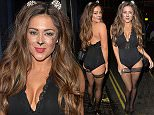 LONDON, UNITED KINGDOM - NOVEMBER 01: Casey Batchelor seen leaving Steam & Rye Halloween Party on November 1, 2015 in London, England.\n \nPHOTOGRAPH BY Eagle Lee / Barcroft Media\nUK Office, London.\nT +44 845 370 2233\nW www.barcroftmedia.com\nUSA Office, New York City.\nT +1 212 796 2458\nW www.barcroftusa.com\nIndian Office, Delhi.\nT +91 11 4053 2429\nW www.barcroftindia.com