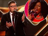 ****Ruckas Videograbs****  (01322) 861777\n*IMPORTANT* Please credit ITV for this picture.\n31/10/15\nThe X Factor -  31st October, ITV1\nGrabs from tonight's  X Factor\nOffice  (UK)  : 01322 861777\nMobile (UK)  : 07742 164 106\n**IMPORTANT - PLEASE READ** The video grabs supplied by Ruckas Pictures always remain the copyright of the programme makers, we provide a service to purely capture and supply the images to the client, securing the copyright of the images will always remain the responsibility of the publisher at all times.\nStandard terms, conditions & minimum fees apply to our videograbs unless varied by agreement prior to publication.
