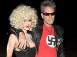 Pictured: Lisa Rinna, Harry Hamlin Mandatory Credit © SPI/Broadimage Casamigos Halloween Party  10/30/15, Beverly Hills, California, United States of America  Broadimage Newswire Los Angeles 1+  (310) 301-1027 New York      1+  (646) 827-9134 sales@broadimage.com http://www.broadimage.com