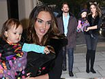 jkpix tamara ecclestone with husband jay rutland and daughter sophia at chester square london trick or treating