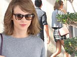 October 29th, Taylor Swift goes to Neiman Marcus store, in Beverly Hills wearing a skirt.  INFphoto.com Ref.: infusla-244/284