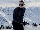 Film: Spectre (2015) Daniel Craig as James Bond.
