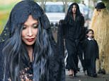 Myleene Klass goes trick or treating with her daughters Hero Harper and Ava Bailey Quinn in North London\nFeaturing: Myleene Klass\nWhere: London, United Kingdom\nWhen: 31 Oct 2015\nCredit: WENN.com