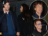Bradley Cooper  Irina  Bono  Mick Jagger