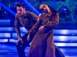 Embargoed to 2015 Saturday October 31 For use in UK, Ireland or Benelux countries only Undated BBC handout photo of Giovanni Pernice and his dance partner Georgia May Foote during a dress rehearsal recording for this year's series of Strictly Come Dancing on BBC1. PRESS ASSOCIATION Photo. Issue date: Saturday October 31, 2015. See PA story SHOWBIZ Strictly. Photo credit should read: BBC/Guy Levy/PA Wire NOTE TO EDITORS: Not for use more than 21 days after issue. You may use this picture without charge only for the purpose of publicising or reporting on current BBC programming, personnel or other BBC output or activity within 21 days of issue. Any use after that time MUST be cleared through BBC Picture Publicity. Please credit the image to the BBC and any named photographer or independent programme maker, as described in the caption.