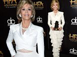 BEVERLY HILLS, CA - NOVEMBER 01:  Actress Jane Fonda attends the 19th Annual Hollywood Film Awards at The Beverly Hilton Hotel on November 1, 2015 in Beverly Hills, California.  (Photo by Steve Granitz/WireImage)