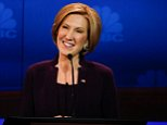 """CNBC EVENTS -- The Republican Presidential Debate: Your Money, Your Vote -- Pictured: Carly Fiorina participates in CNBC's """"Your Money, Your Vote: The Republican Presidential Debate"""" live from the University of Colorado Boulder in Boulder, Colorado Wednesday, October 28th at 6PM ET / 8PM ET -- (Photo by: David A. Grogan/CNBC/NBCU Photo Bank via Getty Images)"""