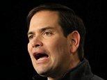 Republican presidential candidate, Sen. Marco Rubio, R-Fla., speaks at the Iowa GOP's Growth and Opportunity Party at the Iowa state fair grounds in Des Moines, Iowa, Saturday, Oct. 31, 2015. (AP Photo/Nati Harnik)