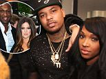 """NEW YORK, NY - FEBRUARY 12: Khloe Kardashian, Cassie, French Montana, Chinx and Malika backstage at the Diddy and Snoop Dogg """"The Tip Off"""" concert at The Theater at Madison Square Garden on February 12, 2015 in New York City.  (Photo by MPI613/Bauer-Griffin/GC Images)"""