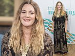 EDITORIAL USE ONLY. NO MERCHANDISING  Mandatory Credit: Photo by Ken McKay/ITV/REX Shutterstock (5335270aa)  Drew Barrymore  'This Morning' TV Programme, London, Britain - 02 Nov 2015  DREW BARRYMORE  Hollywood starlet Drew Barrymore talks family, household chores and growing up in Hollywood as she releases her memoirs, ?Wildflower?.