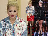 *** MANDATORY BYLINE TO READ: Syco / Thames / Corbis *** The X Factor Live Finals, London, Britain - 1 November 2015  Pictured: Rita Ora Ref: SPL1166974  011115   Picture by: Syco/Thames/Corbis/Dymond