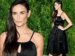 NEW YORK, NY - NOVEMBER 02:  Actress Demi Moore attends the 12th annual CFDA/Vogue Fashion Fund Awards at Spring Studios on November 2, 2015 in New York City.  (Photo by Andrew Toth/Getty Images)