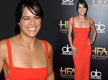 BEVERLY HILLS, CA - NOVEMBER 01:  Honoree Michelle Rodriguez attends the 19th Annual Hollywood Film Awards at The Beverly Hilton Hotel on November 1, 2015 in Beverly Hills, California.  (Photo by Steve Granitz/WireImage)