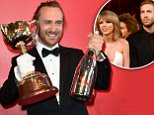 epa05008237 French DJ David Guetta poses for photos in the Mumm marquee in the Birdcage at Flemington Racecourse in Melbourne, Australia, 03 November 2015. The Melbourne Cup takes place on 03 November.  EPA/JULIAN SMITH AUSTRALIA AND NEW ZEALAND OUT