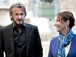 Mandatory Credit: Photo by NICOLAS MESSYASZ/SIPA/REX Shutterstock (5333795c)  Sean Penn and Segolene Royal  Sean Penn out and about, Paris, France - 01 Nov 2015  Sean Penn, committed to the environment and reforestation, has been received by Segolene Royal (French Minister for Ecology), in the Ecology Ministry. She showed him the Dome of Climate, installed in the courtyard of the Ministry