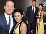 BEVERLY HILLS, CA - NOVEMBER 01:  Actors Channing Tatum (L) and Jenna Dewan Tatum attend the 19th Annual Hollywood Film Awards at The Beverly Hilton Hotel on November 1, 2015 in Beverly Hills, California.  (Photo by Jason Merritt/Getty Images)