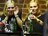 25 Oct 2015  - LONDON   - UK\n*** EXCLUSIVE ALL ROUND PICTURES TO ALL UK NEWSPAPERS ***\nTHE ROYAL REBEL ZARA PHILLIPS TINDALL LEFT THE HOTEL AFTER 2AM AFTER DOWNING BOTTLES OF BEER!\nSTRICTLY COME DANCING CREW PARTY TILL THE EARLY HOURS OF THE MORNING AT A LONDON HOTEL.\nBYLINE MUST READ : XPOSUREPHOTOS.COM\n***UK CLIENTS - PICTURES CONTAINING CHILDREN PLEASE PIXELATE FACE PRIOR TO PUBLICATION ***\n**UK CLIENTS MUST CALL PRIOR TO TV OR ONLINE USAGE PLEASE TELEPHONE  442083442007