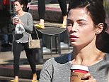 Picture Shows: Jenna Dewan, Jenna Dewan-Tatum  November 03, 2015\n \n Actress and busy mom, Jenna Dewan is spotted leaving a nail salon in Los Angeles, California. Afterwards Jenna stopped by Starbucks, parking illegally outside.\n \n Non-Exclusive\n UK RIGHTS ONLY\n \n Pictures by : FameFlynet UK © 2015\n Tel : +44 (0)20 3551 5049\n Email : info@fameflynet.uk.com