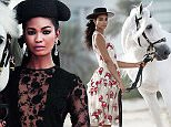 Chanel Iman The shoot took place at royal-owned Z7 International Showjumping, Polo & Riding Stables in the heart of Dubai: https://www.facebook.com/Team-Z7-Showjumping-Polo-and-Al-Andalus-1375714009401653/info/?tab=page_info  The cover and all images are attached, as well as the feature PDF, so please feel free to run in/on The Daily Mail.  Mandatory credits are:  Mandatory credits are:  Magazine: Harperís Bazaar Arabia Styling: Katie Trotter Photography: Silja Magg for Harperís Bazaar Arabia Website: Harpersbazaararabia.com  Instagram: @harpersbazaararabia FB: www.facebook.com/harpersbazaararabia  Twitter: BazaarArabia