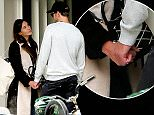 EXCLUSIVE: Fashionista Alexa Chung holds hands and looks lovingly at boyfriend Alexander Skarsgard before getting a kiss goodbye in Soho in New York City on November 1, 2015.  Pictured: Alexa Chung,Alexander Skarsgard Ref: SPL1167091  011115   EXCLUSIVE Picture by: Christopher Peterson/Splash News  Splash News and Pictures Los Angeles: 310-821-2666 New York: 212-619-2666 London: 870-934-2666 photodesk@splashnews.com
