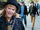 Actress Kate Capshaw celebrates her 62nd birthday with husband Steven Spielberg at Bar Pitti in New York City on November 3, 2015\n\nPictured: Kate Capshaw,Steven Spielberg\nRef: SPL1168359  031115  \nPicture by: Christopher Peterson/Splash News\n\nSplash News and Pictures\nLos Angeles: 310-821-2666\nNew York: 212-619-2666\nLondon: 870-934-2666\nphotodesk@splashnews.com\n