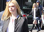 Picture Shows: Elle Fanning, Steven Fanning  November 02, 2015\n \n Actress Elle Fanning enjoys lunch with her dad Steven Fanning in Los Angeles, California. Elle has been busy as of late promoting her latest film, 'Trumbo'.\n \n Exclusive All Rounder\n UK RIGHTS ONLY\n Pictures by : FameFlynet UK © 2015\n Tel : +44 (0)20 3551 5049\n Email : info@fameflynet.uk.com