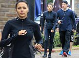 """Picture Shows: Luciana Barroso, Matt Damon  November 04, 2015\n \n """"Couples that sweat together stay together""""\n \n It seems that the old Hollywood saying that couples who train together stay together is true as Matt Damon and his wife Luciana Barroso are spotted going for a run in London, UK. The couple have been together for nearly 10 years!\n \n The 'Bourne' actor is currently in the UK filming the latest movie in the series.\n \n Exclusive\n WORLDWIDE RIGHTS\n FameFlynet UK © 2015\n Tel : +44 (0)20 3551 5049\n Email : info@fameflynet.uk.com"""