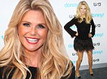 """NEW YORK, NY - NOVEMBER 03: Model Christie Brinkley attends the USA Network hosts the premiere of """"Donny!"""" at The Rainbow Room on November 3, 2015 in New York City.  (Photo by Jim Spellman/WireImage)"""