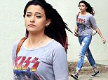 Paris Jackson in ripped jeans and a Kiss tee shirt running errands and changed her hair from all red to black with red tips. She's growing up to become quite a beautiful young lady.  November 2, 2015. X17online.com\nNO FOR WEB SITE USAGE\nMAGAZINE DOUBLE FEES\nAny queries call X17 UK Office 0034 966 713 949\nGary 0034 686421720\nLynne 0034 611100011 \nAlasdair 0034 965998830