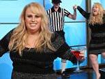 """Australian actress, REBEL WILSON  joins ¿The Ellen Degeneres Show¿ on Tuesday, November 3rd and announces she will be staring in the upcoming ¿Pitch Perfect 3"""".  Rebel talks to Ellen about her clothing line, 'Rebel Wilson for Torrid¿ and her recent summer vacation all over Europe.  Rebel reveals she once got stuck in a water slide while talking to Ellen about her recent water sports activity on a  Fly Board, where she got the nickname ¿White Legs Wilson¿.   Plus, Rebel completed a High Heel Challenge and received a $10,000 donation from Shutterfly  for her charity, School of St Jude in Tanzania.\n"""