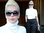 Mandatory Credit: Photo by Kristin Callahan/ACE/REX Shutterstock (5343642h)\n Lady Gaga\n Lady Gaga out and about, New York, America - 04 Nov 2015\n Lady Gaga leaving her apartment\n
