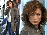 """Jennifer Lopez pictured filming scenes at the """"Shades of Blue"""" tv series set inside the """"LaGuardia Airport in Queens.\n\nPictured: Jennifer Lopez\nRef: SPL1169265  041115  \nPicture by: Jose Perez / Splash News\n\nSplash News and Pictures\nLos Angeles: 310-821-2666\nNew York: 212-619-2666\nLondon: 870-934-2666\nphotodesk@splashnews.com\n"""