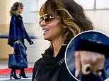 EXCLUSIVE TO INF.\nNovember 4, 2015: Halle Berry seen for the first time without her wedding ring as she arrives at a studio in Los Angeles, California.\nMandatory Credit: Mariotto/Lazic/INFphoto.com\nRef.: infusla-244/258