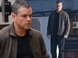November 02, 2015: November 02, 2015  Matt Damon seen on the edge of a tall building filming scenes for the as yet untitled 5th movie in the Bourne series    Byline Paul/Dean/FameFlynet  Non Exclusive Worldwide Rights Pictures by : FameFlynet UK © 2015 Tel : +44 (0)20 3551 5049 Email : info@fameflynet.uk.com