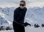 Film: Spectre (2015) Daniel Craig as James Bond.