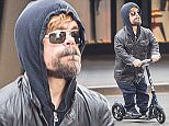 *** Fee of £100 applies for subscription clients to use images before 031115 *** EXCLUSIVE ALLROUNDERPeter Dinklage seen wearing a hoodie and cruising on his scooter in Meatpacking District in New York City Featuring: Peter Dinklage Where: New York City, New York, United States When: 02 Nov 2015 Credit: WENN.com