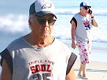 Picture Shows: Dustin Hoffman  November 02, 2015    'Chef' actor Dustin Hoffman was out getting some sun on the beach in Malibu, California. Dustin is hoping to help restore Broad Beach in Malibu alongside Ray Romano and Pierce Brosnan.     Exclusive All Rounder  UK RIGHTS ONLY    Pictures by : FameFlynet UK © 2015  Tel : +44 (0)20 3551 5049  Email : info@fameflynet.uk.com