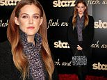 Actress Riley Keough, daughter of Lisa Marie Presley and granddaughter of Elvis and Priscilla Presley, arrives for the premiere of STARZ's 'Flesh and Bone' in NYC\n\nPictured: Riley Keough\nRef: SPL1167595  021115  \nPicture by: Fortunata/Splash News\n\nSplash News and Pictures\nLos Angeles: 310-821-2666\nNew York: 212-619-2666\nLondon: 870-934-2666\nphotodesk@splashnews.com\n