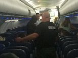 """An American Airlines flight made an emergency landing in Wichita, Kansas, Tuesday after a passenger on board allegedly became disruptive.  Flight 622 was en route from Phoenix to John F. Kennedy Airport in New York with 121 passengers and six crew members, an American Airlines spokesman said.  Passenger Troy Petrunoff told ABC News, """"We were in the air for about an hour and a half when everything went down. A flight attendant mentioned there was a security concern and we?re going to take someone off the plane."""""""