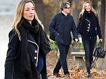 2.NOV.2015 - PARIS - FRANCE\n***EXCLUSIVE PICTURES***\nBRITISH ACTOR HUGH GRANT AND PREGNANT ANNA EBERSTEIN PICTURED ENJOYING A ROMANTIC STROLL IN JARDIN DES TUILLERIES IN PARIS. ANNE IS EXPECTING HER SECOND CHILD WITH HUGH GRANT.\nBYLINE MUST READ : E-PRESS / XPOSUREPHOTOS.COM\n*AVAILABLE FOR UK SALE ONLY*\n***UK CLIENTS - PICTURES CONTAINING CHILDREN PLEASE PIXELATE FACE PRIOR TO PUBLICATION ***\n**UK CLIENTS MUST CALL PRIOR TO TV OR ONLINE USAGE PLEASE TELEPHONE  +44 208 344 2007**